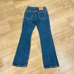 Vintage High Waisted Flare Leg Levis